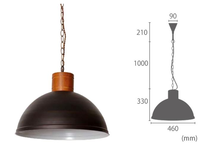 エルックス ルチェルカ ランダー 1灯 1灯 ペンダントランプ3